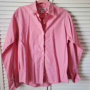 Brooks Brothers pink cotton button down 16